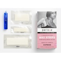 Parissa - Wax Strips Assorted Size For Underarm, Bikini & Face