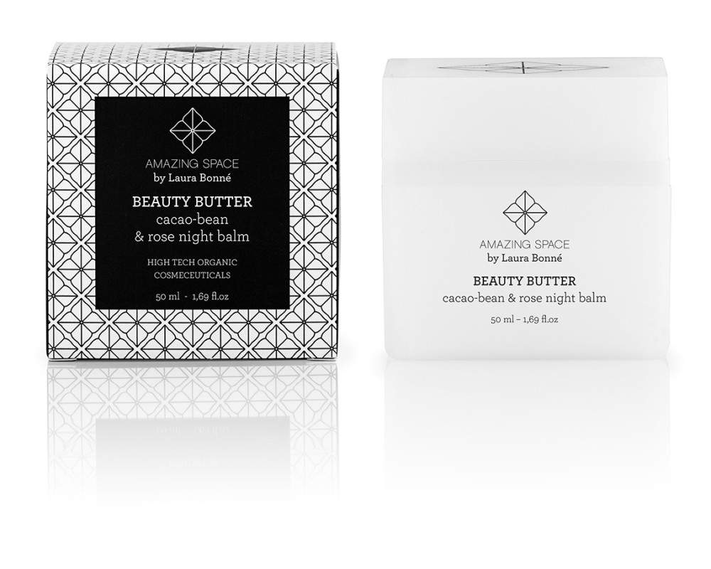 Beauty Butter - Cacao bean & rose balm 50ml